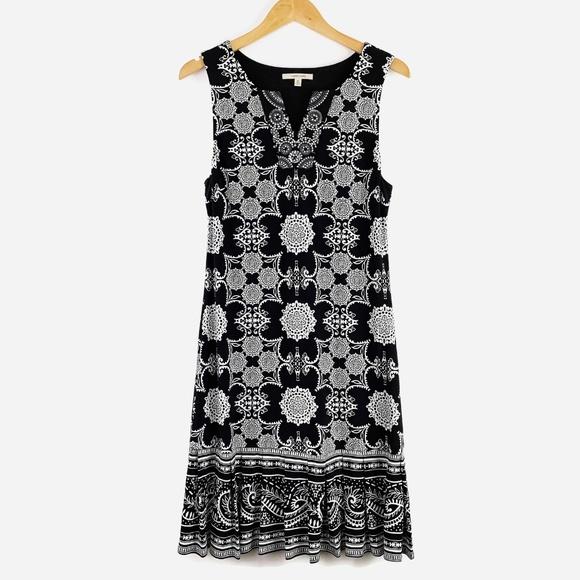41 Hawthorn Dresses & Skirts - 41 Hawthorne Kora Jersey Dress Black White Medium